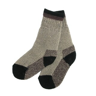 Clear Creek Boy's Wool Hiking Socks (2 Pair Pack)