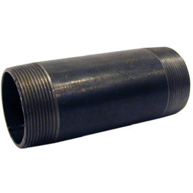 PanNext NB-1025 Nipple 1 x 2-1/2, Black