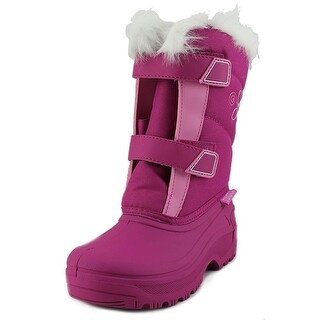 Tundra Hudson Youth Round Toe Synthetic Snow Boot