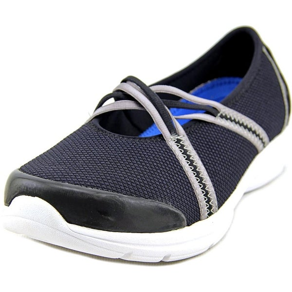 Easy Spirit e360 Quinty W Round Toe Canvas Walking Shoe