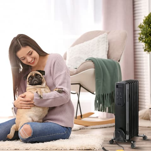 Ainfox Electric Oil Filled Heater with Remote Control