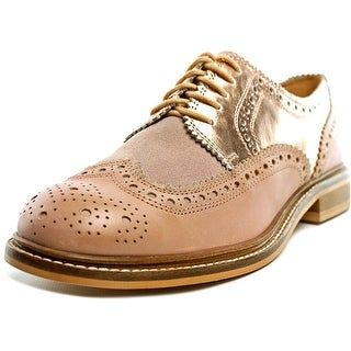 Seychelles Ambush Women  Wingtip Toe Leather Pink Oxford