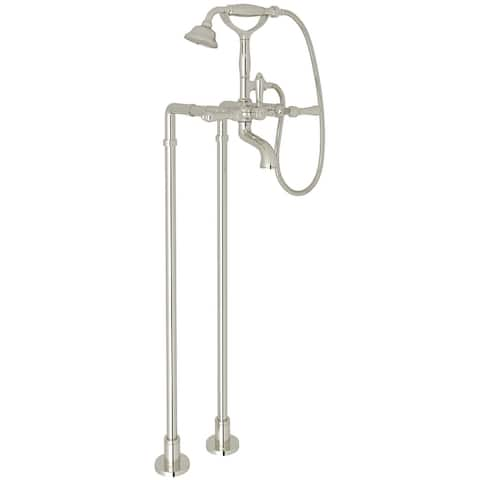 Rohl AKIT1401NLM Exposed Floor Mounted Tub Filler