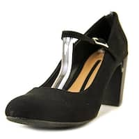 New Directions Womens JANIE Closed Toe Ankle Strap Mary Jane Pumps