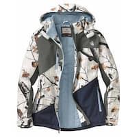 Legendary Whitetails Women's Cascade Insulated Softshell Jacket - big game snow camo