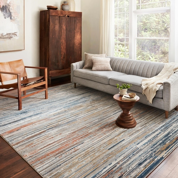 Alexander Home Charlotte Modern Ombre Area Rug. Opens flyout.