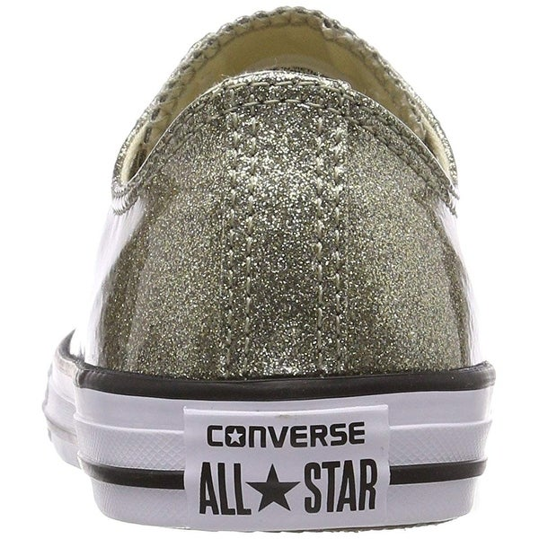 Shop Converse Chuck Taylor All Star Glitter Ox Gold