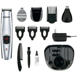 Conair 13-Piece All-In-One Grooming System, [GMT189CGB] 1 ea|https://ak1.ostkcdn.com/images/products/is/images/direct/a25ec1af9cc180af6f07f6f08e2a1101461fdc83/700487/Conair-13-Piece-All-In-One-Grooming-System%2C-%5BGMT189CGB%5D-1-ea_270_270.jpg?impolicy=medium