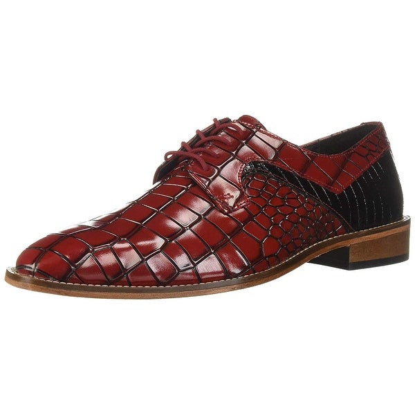 Stacy Adams Mens Triolo Leather Square