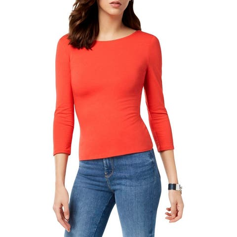 651c8bc377e4 Red Guess Tops | Find Great Women's Clothing Deals Shopping at Overstock