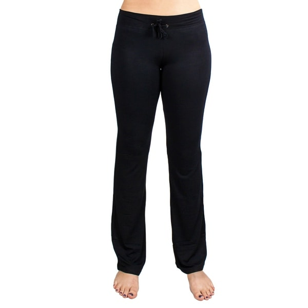 Shop Small Black Relaxed Fit Yoga Pants