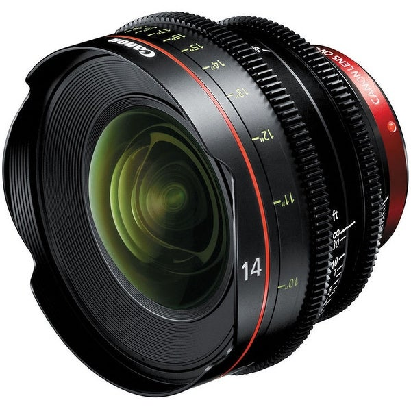 Canon CN-E 14mm T3.1 L F Cinema Prime Lens (EF Mount) (International Model)