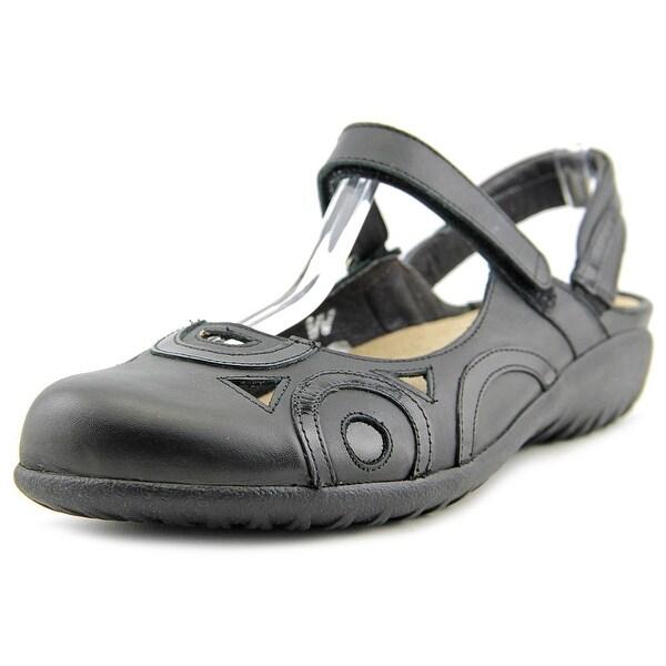 Naot Rongo W Round Toe Leather Slingback Sandal