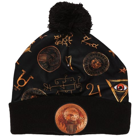 Fantastic Beasts And Where To Find Them MACUSA Cuff Beanie - Black