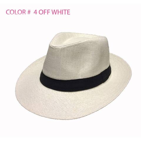 bfd61d285 Buy White, Fedora Men's Hats Online at Overstock | Our Best Hats Deals