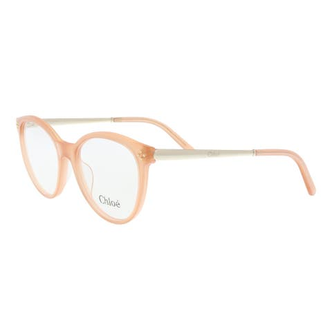 Chloe CE2676 749 Peach Rectangle Opticals