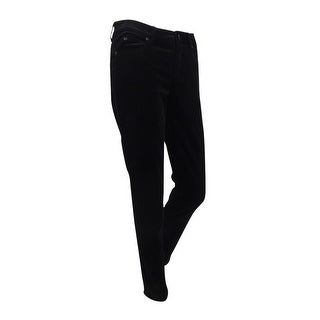 Two by Vince Camuto Women's Velvet Skinny Jeans (2, Rich Black) - rich black - 2