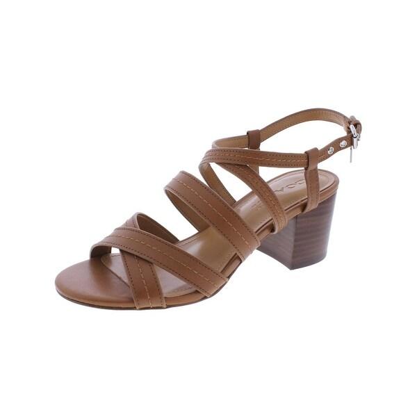 ee5c341e735b Shop Coach Womens Terri Dress Sandals Block Heel Open Toe - Free ...