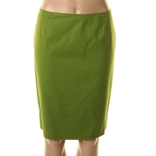 Jones New York Womens Petites Shelter Island Pencil Skirt Flat Front Lined - 6P