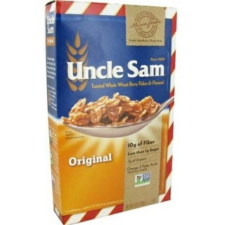 Uncle Sam Cereal - Toasted Whole Wheat Berry Flakes ( 12 - 10 OZ)