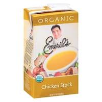Emeril Organic Chicken Stock - Case of 6 - 32 Fl oz.