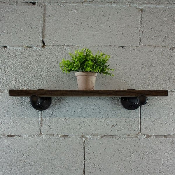 "Somerville Farmhouse Industrial 18"", 24"" & 30"" Wall Shelf. Opens flyout."
