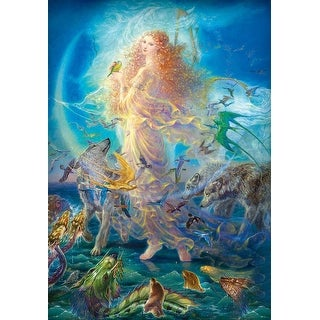 Kinuko Y. Craft Rhiannon Fantasy 1000 Piece Jigsaw Puzzle - Multicolored