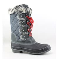 Maine Woods Womens Nicole Grey Snow Boots Size 9