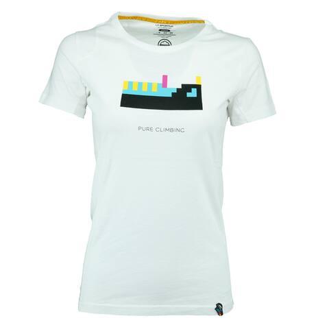 La Sportiva Women's Pixel Kendo T-Shirt - White - S