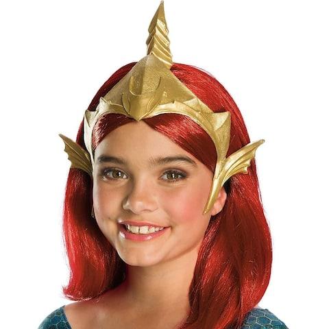 DC Aquaman Movie Mera Child Costume Tiara - Gold