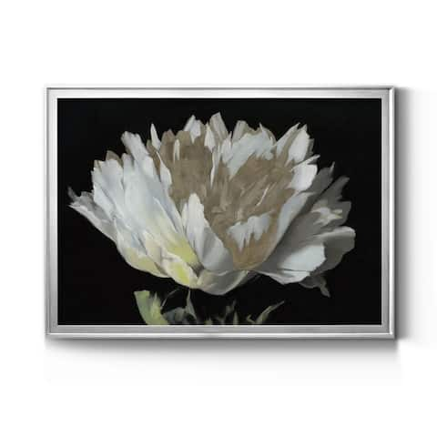 WHITE PEONY Premium Framed Canvas - Ready to Hang