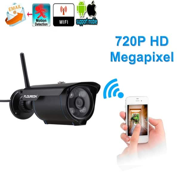 Shop Floureon 720P H 264 Wifi Megapixel Wireless CCTV