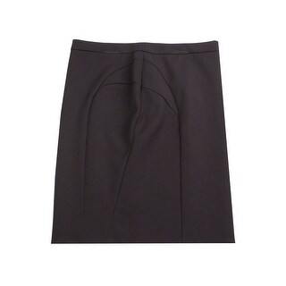 Prada Women's Nylon Blend Skirt Black - 44