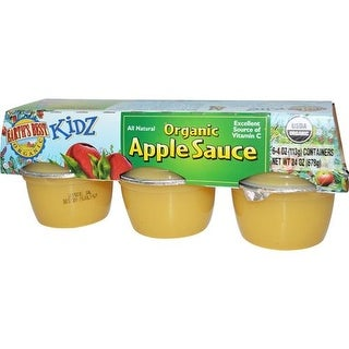 Earth's Best - Organic Apple Sauce Cups ( 72 - 4 OZ)