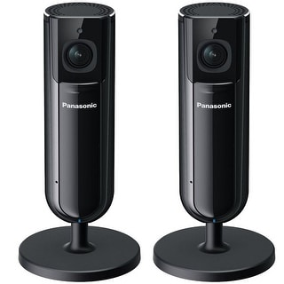 Panasonic KXHNC800B (2-Pack) Full HD Home Monitoring Indoor Camera