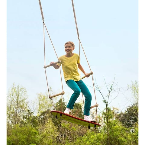 HearthSong 33-in. x 12-in. Air Rider Surf Swing - One-Size