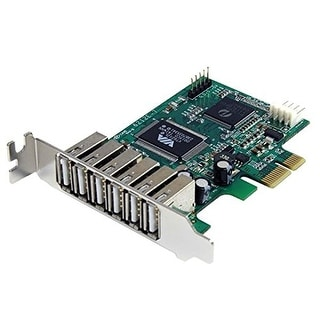 Startech.Com 7 Port Pci Express Low Profile High Speed Usb 2.0 Adapter Card (Pexusb7lp)