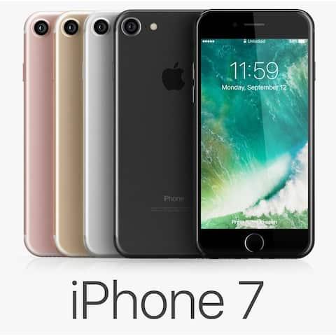 Apple iPhone 7 128GB Factory Unlocked 4G LTE Phone (AT&T Verizon T-Mobile) w/12MP Camera (Open Box)
