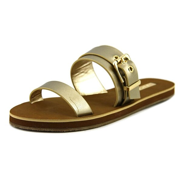 Aldo Eleanna Open Toe Leather Slides Sandal