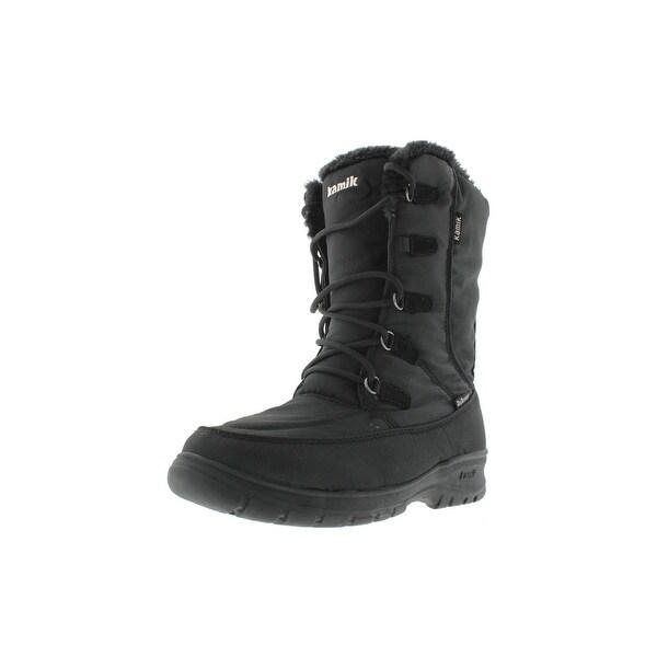 Kamik Womens Brooklyn Snow Boots Lined Mid-Calf