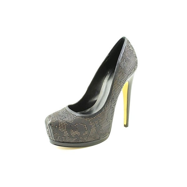Truth or Dare by Madonna Womens Langlade Closed Toe Platform Pumps