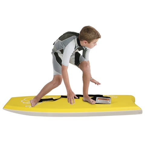 Outdoor Water Kid/Youth Surfboard Stand-Up Paddle Yellow