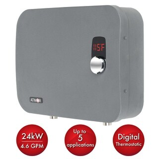 Atmor AT-910-24TP ThermoPro 24 Kilowatts 240 Volts 3.6 GPM Electric Whole House - n/a - N/A