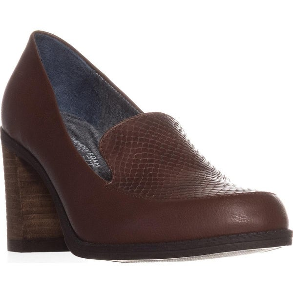 Dr. Scholl's Locate Comfrot Heels, Copper Brown