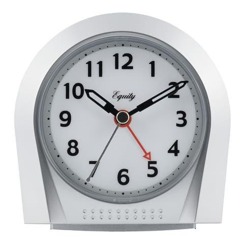 Equity by La Crosse 21103 Silent Sweep Night Vision Alarm Clock