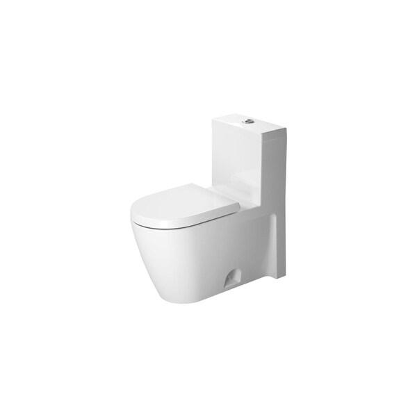 Duravit 2133010005 Starck 2 Toilet 1 28 Gpf One Piece Less Seat White