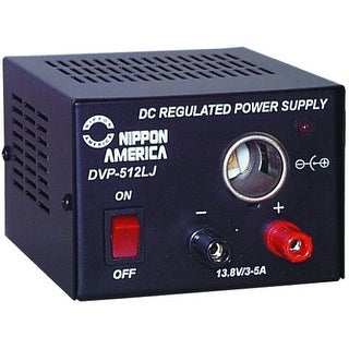 5 Amp Power Supply with Lighter Jack