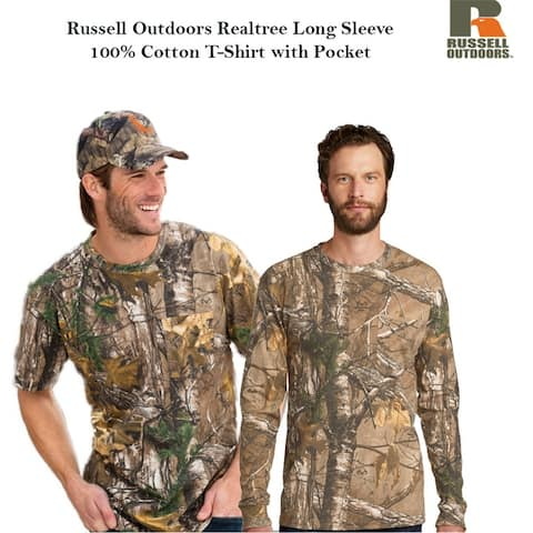 Russel Outdoor Realtree Cotton Tee with Pocket
