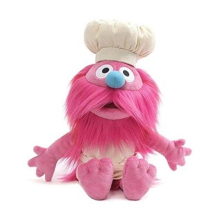 Sesame Street Gonger 10 Inch Collectible Plush - Pink