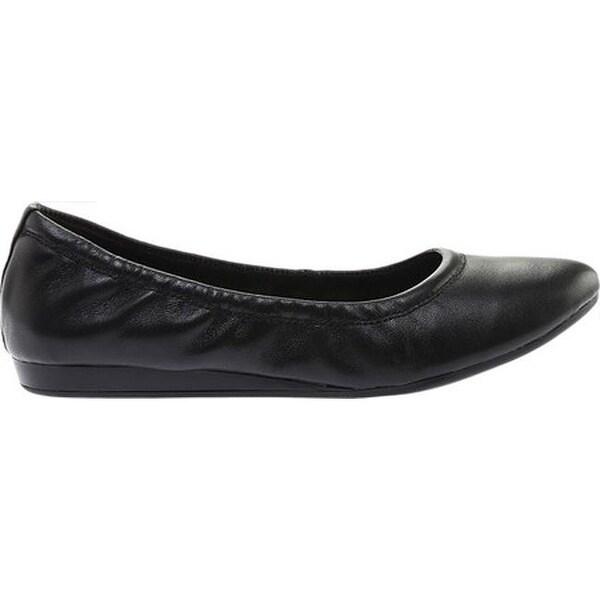 Fadri Ballet Flat Black Leather